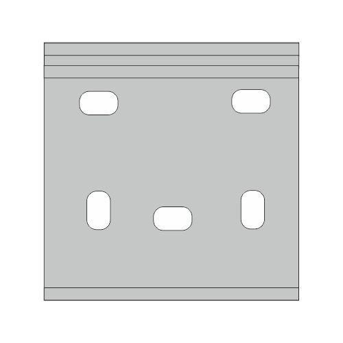 Montagebeugel Knikarmscherm V280